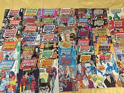 Lot of 42 Justice League Europe Comics Mid Grade READERS AWESOME!