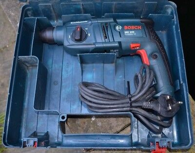 Bosch Gbh 2000 Professional Corded 230V Sds+ Rotary Hammer Drill With Carry Case