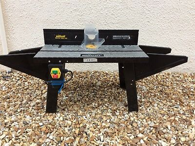 Router Table Wolfcraft