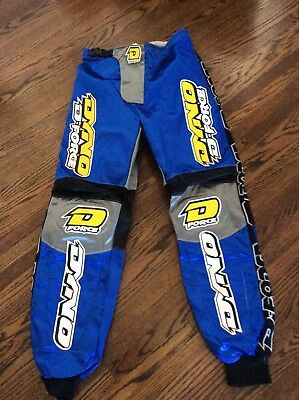 New Old School Bmx Dyno D-Force Blue Racing Pants Leathers 32 Gt