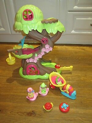 Elc Happyland Tree House Play Set & Figures & Snail Car