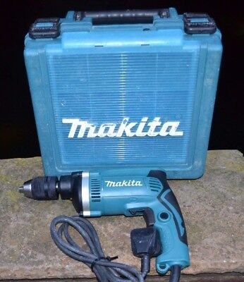 Makita Hp1631 Corded 230V Percussion Drill With Carry Case