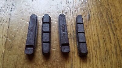 TRP CARBON COMPOUND BRAKE PADS PAIR, BRAND NEW for CARBON CLINCHER RIMS