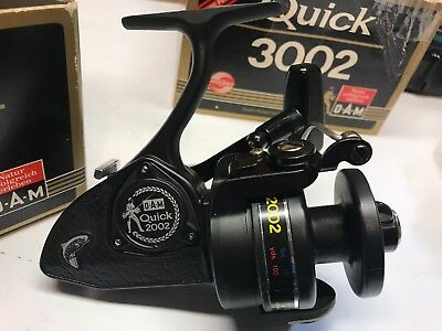 D.A.M  Quick 2002 Spinning Reel NIB  Extra spool