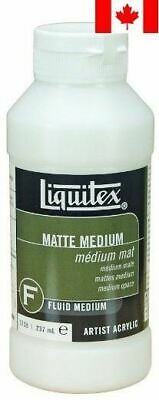 Reeves Liquitex 8-Ounce Acrylic Matte Medium Gel
