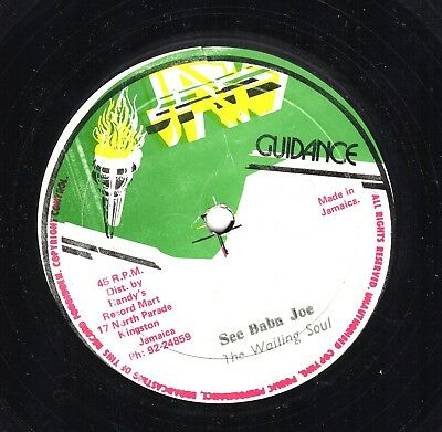 """"""" TOO SEXY."""" johnny osbourne. JAH GUIDANCE 12in 1981."""