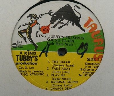 "KING TUBBYS soundclash 12"" LP jah shaka killer roots"