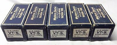 Five New In Box Western Electric VT-5/215A