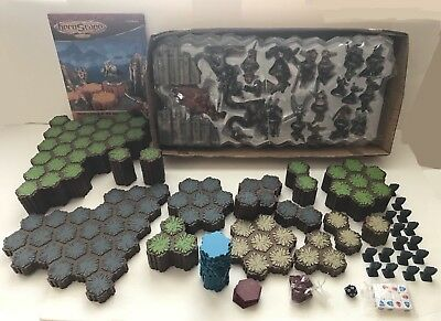 Heroscape Master Set Rise Of Valkyrie Game System Complete Board Figures Used !!