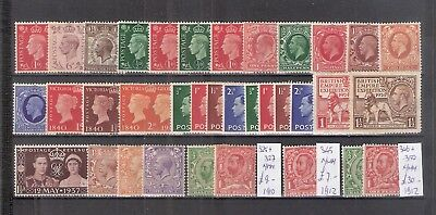 Gb ##  Great Britain  Very Nice Lot  */mh