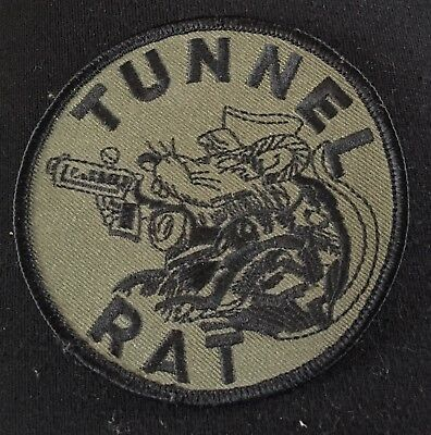 Authentic Tunnel Rat Cloth Patch