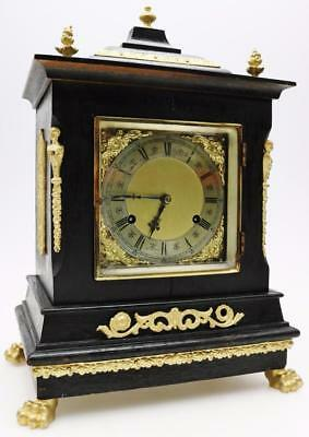 Wilcock Westminster Musical Bracket Clock 8 Day Striking New Haven Mantel Clock