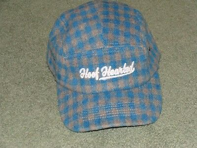 New Hoof Hearted Brewery Hat Plaid Adjustable Tree House Trillium Other Half Oop