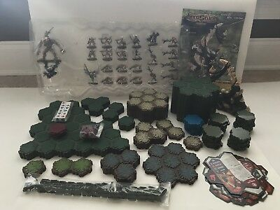 Heroscape Master Set Two 2 Swarm Of The Marro Game System Board Figures Used !!!