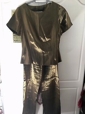 Vintage Fifth Avenue Gold Co-ord - UK 10