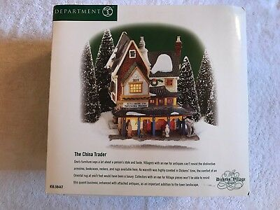 Dept. 56 Dickens Village The China Trader #58447