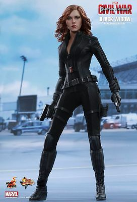 CAPTAIN AMERICA 3 - Black Widow 1/6th Scale Action Figure MMS365 (Hot Toys) #NEW