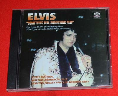 "Elvis ""Something Old, Something New"" Original CD Hilton 01/26/71 Opening Show"