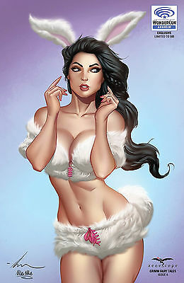 "Grimm Fairy Tales V2 #4 Wondercon ""nice"" Exclusive__NM or better__limited 500"
