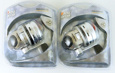 *(Lot Of 2) Abu Garcia Abumatic 476I 3.6:1 Two Bearing Spincast Reel #1139304