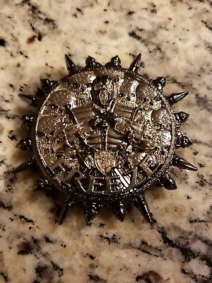 Colorless Freeze Mortal Kombat Nypd Challenge Coin