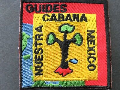 Girl Guides Canada Sangam Waggs Nuestra Cabana Mexico B.c. Embroidered Patch
