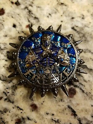 Freeze Mortal Kombat Nypd Challenge Coin