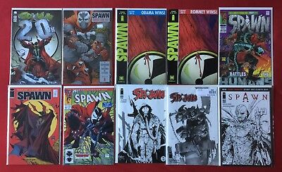 Spawn 220 224 225 X2! 229 231 272 275 276 Sketch Covers! Awesome RARE Homage