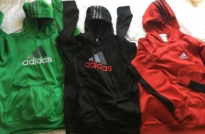 Boys Adidas Hoodie Lot Size Large