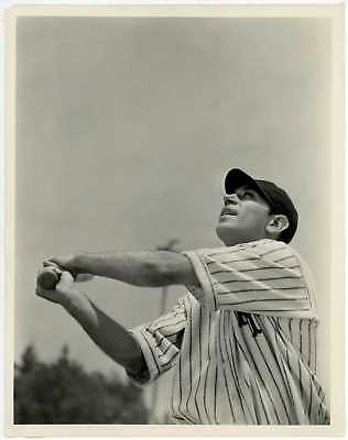 Night after Night 1932 Original Photo George Raft in New York Giants Uniform