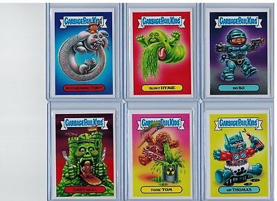 2017 GPK Garbage Pail Kids Wacky Packages Fall Comic Con 12-Card Set SP Only 187