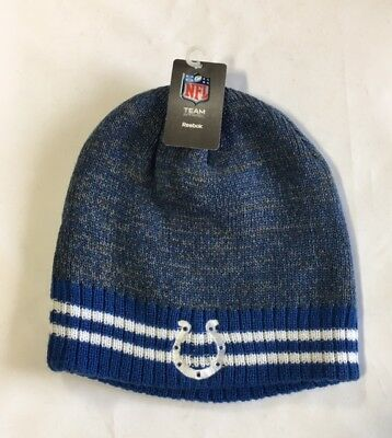 d3c5db6177a95f Indianapolis Colts Knit Beanie Winter Hat Toque Skull Cap NEW Logo Blue  Heather