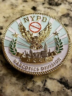 Occb Narcotics Nypd Challenge Coin