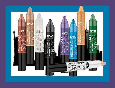 ~3~ New York Color City Proof 24 HR Eye Shadow Primer *YOU CHOOSE* your shade