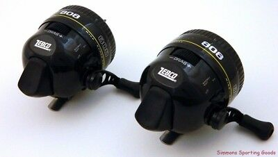 *(Lot Of 2) Zebco 808G Prespooled 20Lb Fishing Line Spincast Reel Bulk