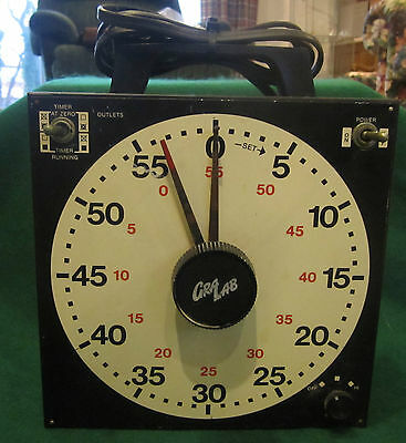 GRA-LAB 171 Professional Photography Dark Room Dual Outlet Universal Timer