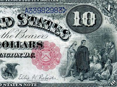 HGR 1880 $10 RARE Jackass ((Highly WANTED)) AWESOME GRADE