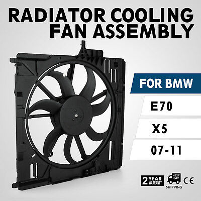Engine Radiator Cooling Motor Fan Assembly 17427598740 for BMW E70 X5 2007-2010