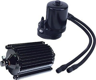 Fueling 2007 Motorcycle Engine Oil Filter Cooler Color:Black