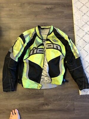 Icon  Motorcycle Jacket - Mens Size Large