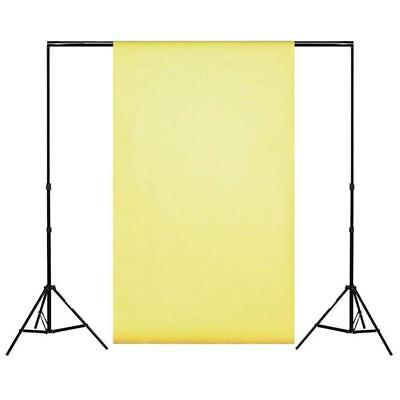 Spectrum Soft Butter Yellow Non-Reflective Half Length Paper Roll Backdrop (1.36