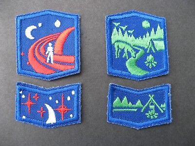 Girl Guides Canada  4 Badges Camping Profficiency Scouts Brownies Guiding
