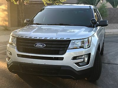 2016 Ford Explorer Police Interceptor 2016 Police Ford Explorer Interceptor Clean title 14k Like NEW