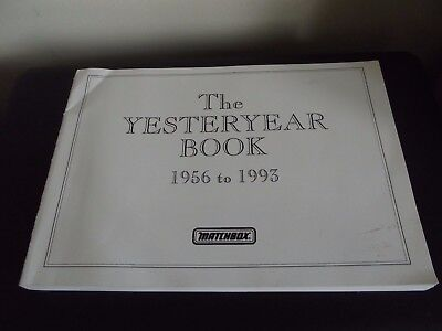 The Yesteryear Book 1956 to 1993 - Matchbox