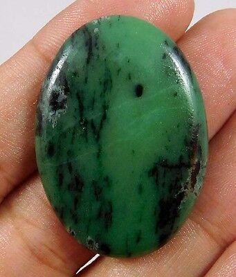 50 Cts.100% NATURAL RUBY ZOISITE LOOSE CAB GEMSTONE (AQ164)