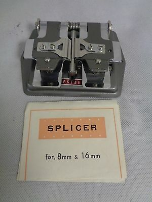 VINTAGE KESTREL SPLICER 8mm & 16mm  IN ORIGINAL BOX WITH INSTRUCTIONS   (QU)