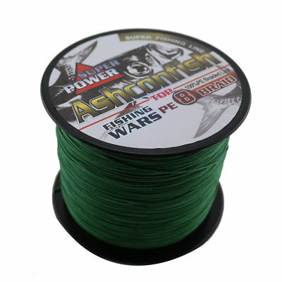 8Strands Braided Fishing Line 1000M 20-300LB Multifilament Polyethylene Sea line