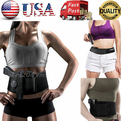 US Ultimate Belly Band Concealed Holster for Bodyguard Revolvers Fits Gun Carry