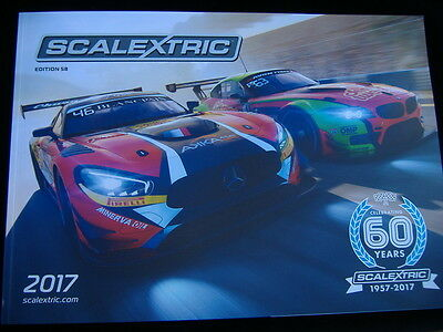 Scalextric  58Th Edition Catalogue 2017