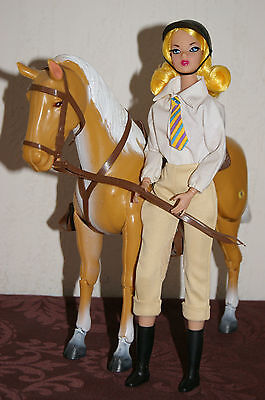 Barbie Pferd Big Jim Horse Empire Carolina Enterprises 1974 Palomino Gelenkpferd